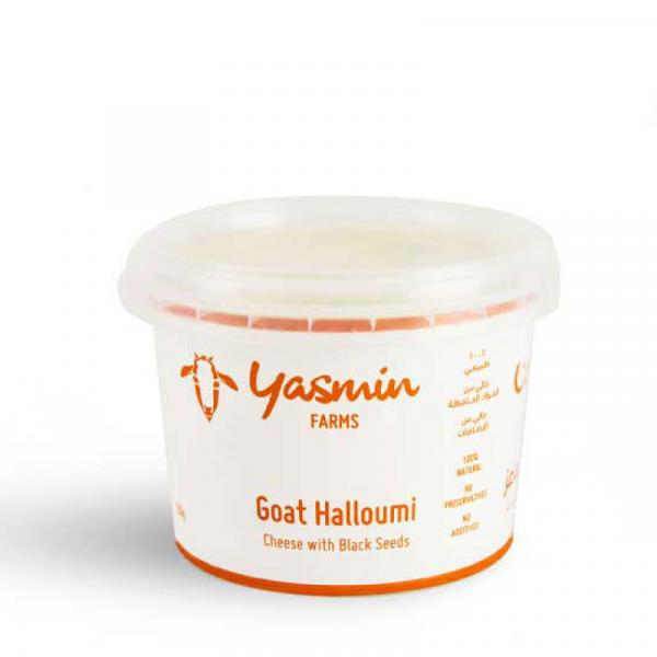 Goat Halloumi Cheese with Black Seeds 250g