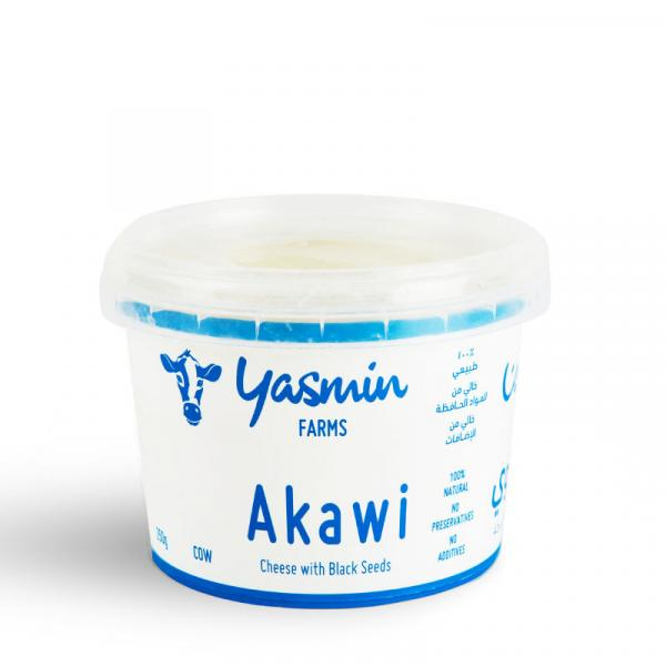 Cow Akawi Cheese with Black Seeds 250g