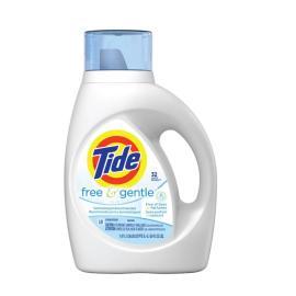 Tide Detergent Liquid 2X HE Free PlsCnt 48Load