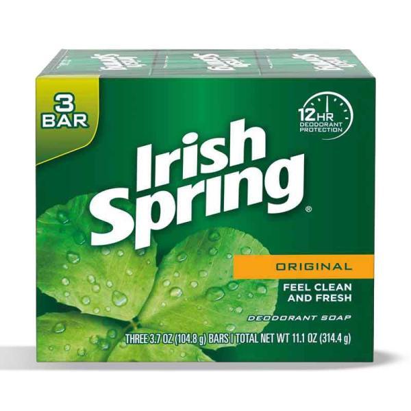 Irish Spring Soap Bar Original 3BarX3.75OZ