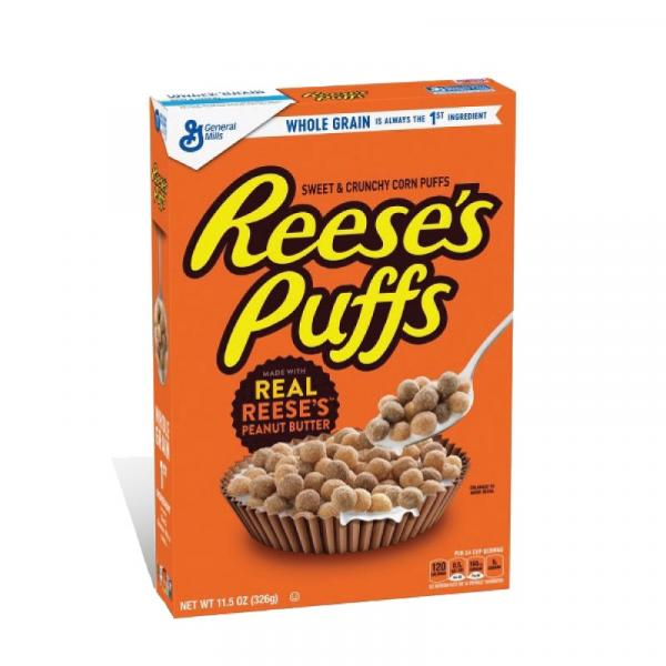 General Mills Cereal Reeses PB Puffs Crtn 11.5OZ