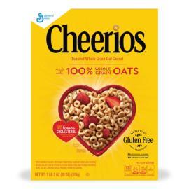 General Mills Cereal Cheerios Crtn 18OZ