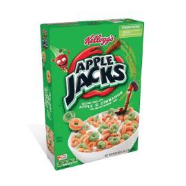 Kelloggs Cereal Apple Jacks Crtn 10.1OZ