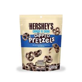 Hersheys Dipped Pretzels Cookies N Cream Bag 8.5OZ