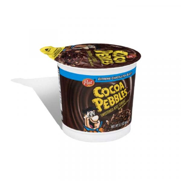 Post Cereal SS Cocoa Pebbles Cup 2.1OZ