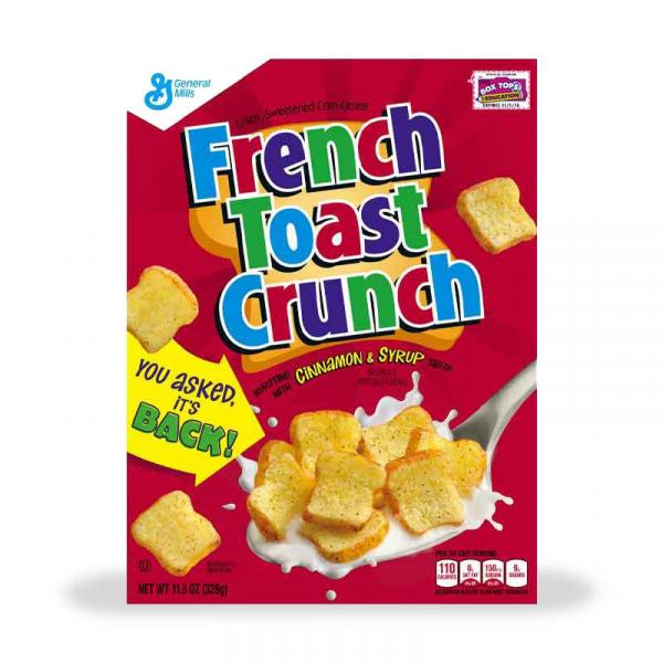 General Mills Cereal Toast Crunch French Crtn 11.1OZ