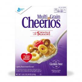 General Mills Cereal Cheerios Multigrain Crtn 18OZ