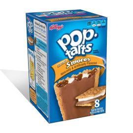 Kelloggs Pop Tarts Frosted Smores Box8X13.5OZ