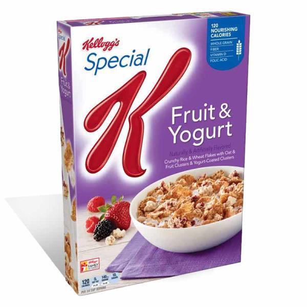 Kelloggs Cereal Special K Fruit  \ Yogurt Crtn 13OZ