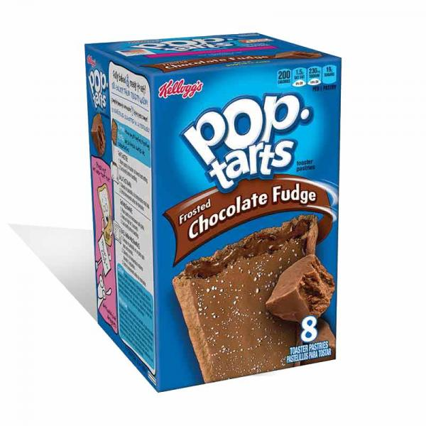Kelloggs Pop Tarts Frosted Choc Fudge Box8X13.5OZ