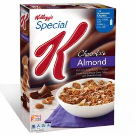 Kelloggs Cereal Special K Choc Almond Crtn 13.3OZ