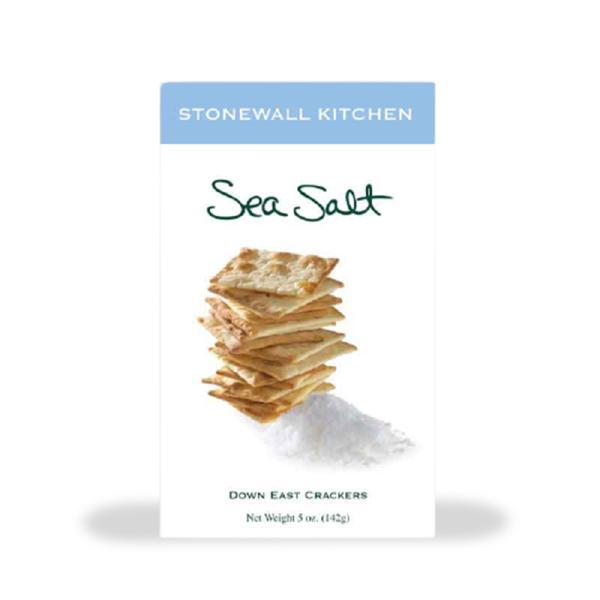 Stonewall Kitchen Crackers Sea Salt Crtn 5OZ