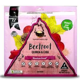 Beetroot Quinoa & Chia Wraps 200g