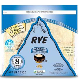 Rye Wraps Pack 200g