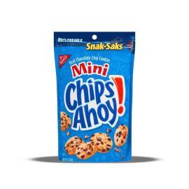 Nabisco Snak Sak Mini Chips Ahoy Pack 8 OZ