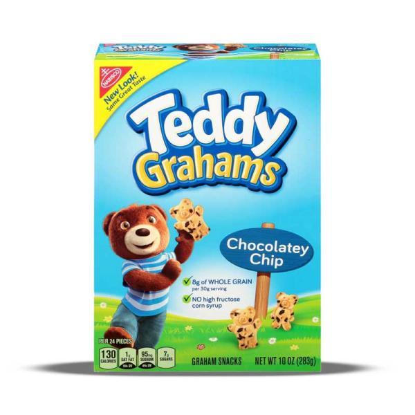 Nabisco Teddy Grahams Choc Chip Pack 10 OZ