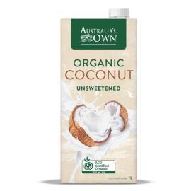 Organic Unsweetened Coconut Milk 1L