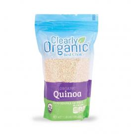 Clearly Organic Quinoa White Bag 16OZ