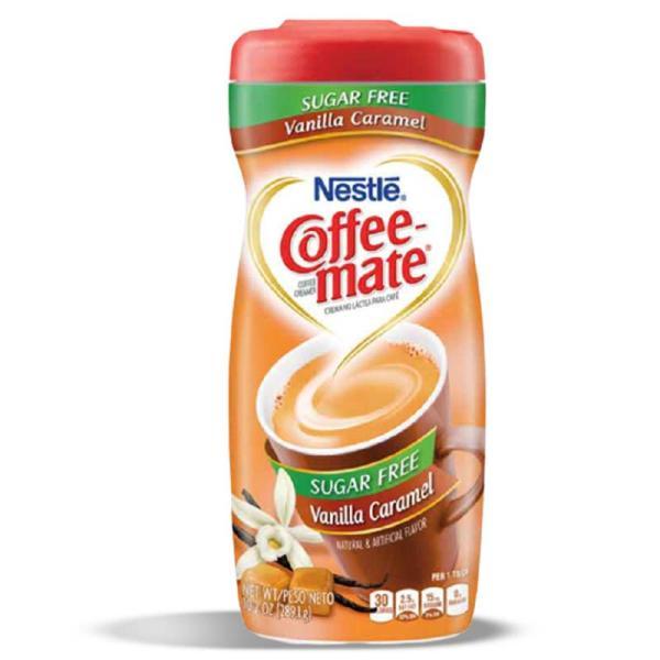 Coffeemate SF Vanilla Caramel PlsCnt 10.2OZ