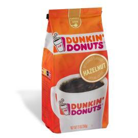 Dunkin Donuts Coffee Hazelnut Bag 12OZ