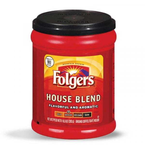 Folgers Coffee House Blend PlsCnt 10.3OZ