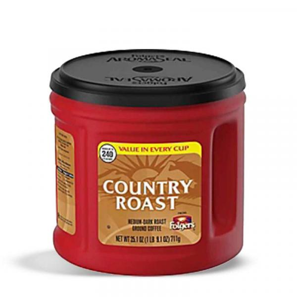 Folgers Coffee Country Roast PlsCnt 25.1OZ