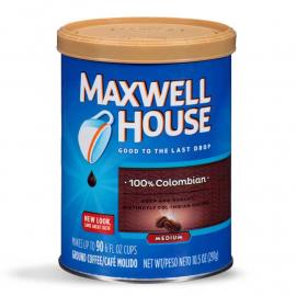 Maxwell House Coffee Medium 100 \ Colombian PlsCnt 10.5OZ