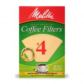 Melitta Coffee Filter # 4 Cone Box 40CT