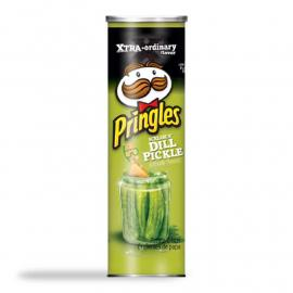 Pringles Screamin Dill Pickle Box 5.5OZ