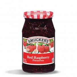 Smuckers Preserves Raspberry GlsCon 12OZ