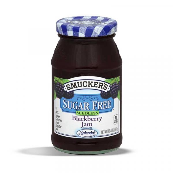 Smuckers SF Seedless Blackberry GlsCon 12.75OZ