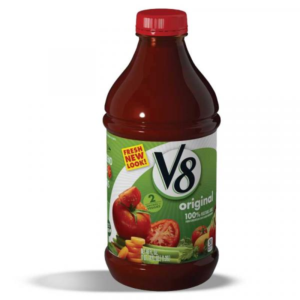 V8 Vegetable Juice PlsCnt 46OZ