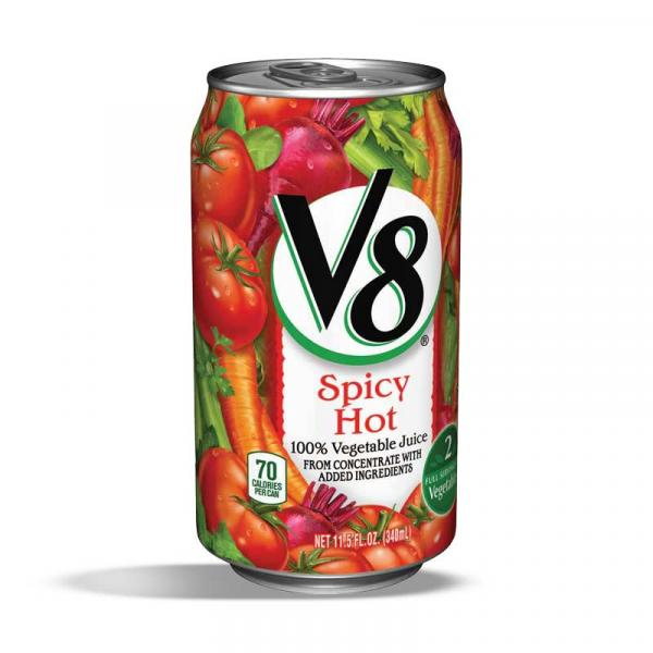 V8 Vegetable Juice Spicy Hot Can 11.5OZ