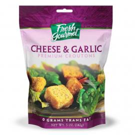 Fresh Gourmet Croutons Prem Cheese  \ Garlic Bag 5OZ