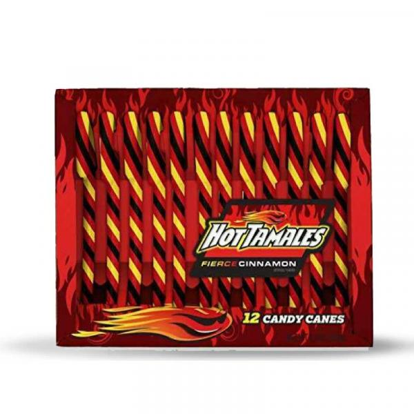 Hot Tamales Canes Fierce Cinnamon 5.3oz (12ct)