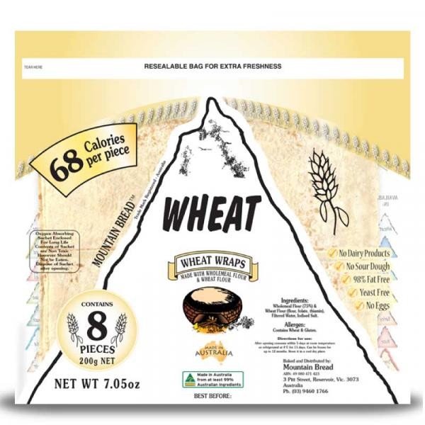 Wheat Wraps Pack 200g